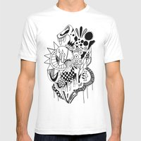 Lady Mens Fitted Tee White SMALL