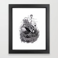 Land Of The Sleeping Gia… Framed Art Print