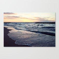 Lake Erie Sunset Canvas Print