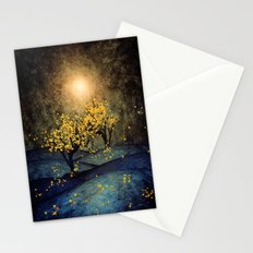 Yellow Autumn Stationery Cards