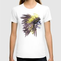 native american T-shirts featuring Native by @Subliminal_society