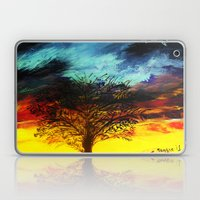 Stormy Sunrise Laptop & iPad Skin