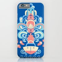 iPhone & iPod Case featuring Ponyo Deco by Ashley Hay