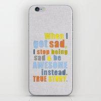 LEGEN____waitforit____DA… iPhone & iPod Skin