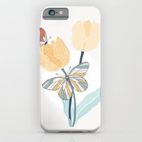 Butterflies and Tulips III iPhone 6 Slim Case