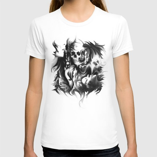 Sin and smoke T-shirt
