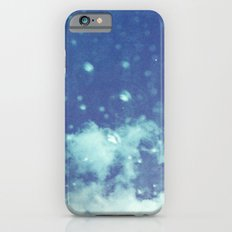 Blue and purple bubble clouds II iPhone 6 Slim Case