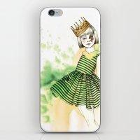 Little Queen iPhone & iPod Skin
