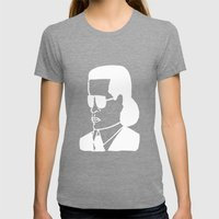 Faces Of Fashion Part De… Womens Fitted Tee Tri-Grey SMALL