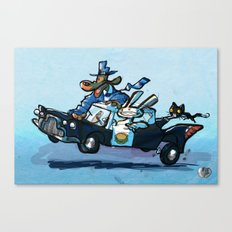 Use Verb on Noun #28: Sam & Max Hit The Road Canvas Print