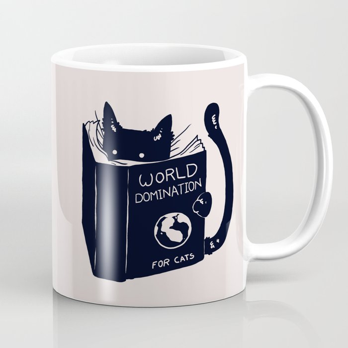 Wish with coffee mug global domination when