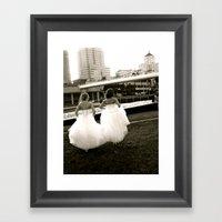 WHITEOUT : BFFs Framed Art Print