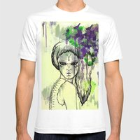 Tribal Beauty 1 Mens Fitted Tee White SMALL