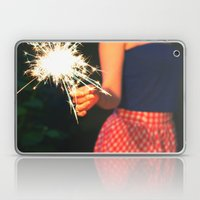 Summer Sparkler Laptop & iPad Skin