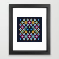 oaxaca fest Framed Art Print