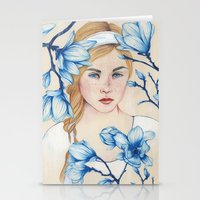 Porcelain Doll Stationery Cards