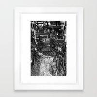 One Man's Possessions Framed Art Print