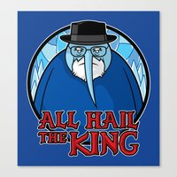 The King Of Ice Canvas Print