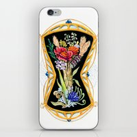 Flower Paintings: Wild F… iPhone & iPod Skin