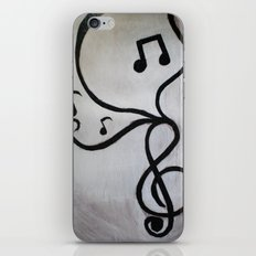Music Notes iPhone & iPod Skin