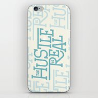 iPhone & iPod Skin featuring The Hustle Is Real by Josh LaFayette
