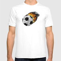 Great Ball Of Fire - Mos… Mens Fitted Tee White SMALL