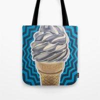 Ice Cream Soft-Serve Cone Tote Bag