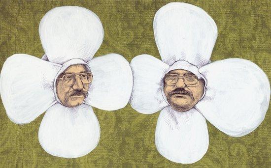 Flower Men Art Print