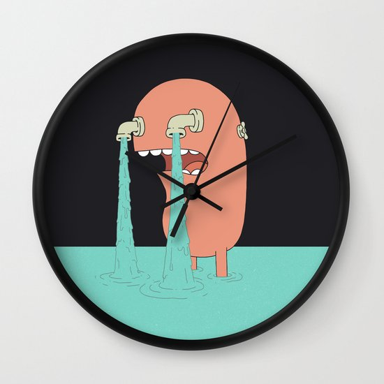 Get Over It Wall Clock