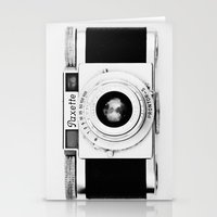 Paxette Vintage Camera Stationery Cards