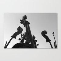 Divine Music Canvas Print