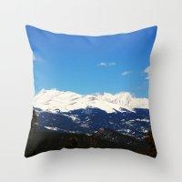 Golden Canyon State Park Throw Pillow