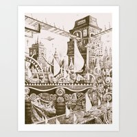 The Tilhilnilian Highway Art Print