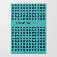 Enemy Among Us II Canvas Print