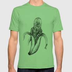 Chewbacca banana Mens Fitted Tee Grass SMALL