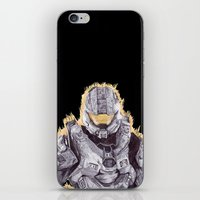 Halo Master Chief iPhone & iPod Skin
