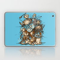 Kitchen Fight Laptop & iPad Skin