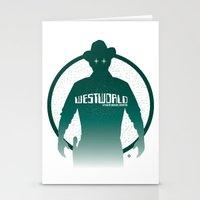 WESTWORLD Stationery Cards