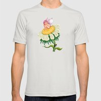 Fairy Mens Fitted Tee Silver SMALL