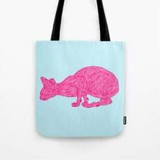 Pink Tammy Tote Bag