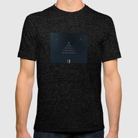 10. No God Only Religion Mens Fitted Tee Tri-Black SMALL