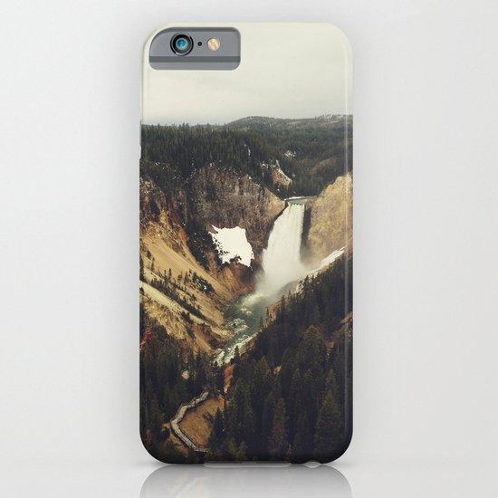 Yellowstone Falls iPhone & iPod Case