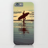 iPhone & iPod Case featuring Evening Surf by TaylorT