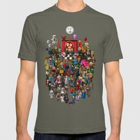 Super Mighty Boosh Mens Fitted Tee Lieutenant SMALL