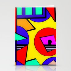 80's Punch Stationery Cards