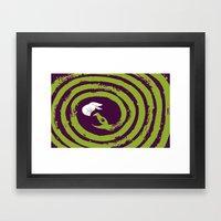 Decaying Snake Framed Art Print