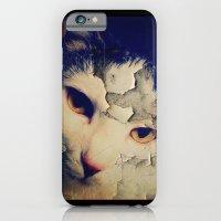 iPhone & iPod Case featuring Broken Cat by Victoria Dawn Burgamy