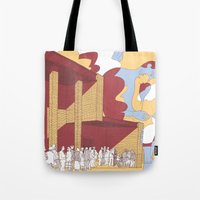 The Death Is Not The End Tote Bag