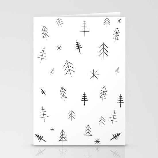 O Christmas tree[s] Stationery Card