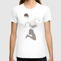 CIRCUITRY SURGERY 6 Womens Fitted Tee White SMALL